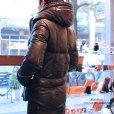 画像8: 【diosbras】【全国送料無料】 最強!! 本革 羊革 羊皮 ラム シープ スキン レザー ダウン ジャケット  ライダース フード バイカー メンズ レザーダウンジャケット メンズ ブラック レザージャケット  シープ 【diosbras-ディオブラス】