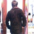 画像8: 最強!! 本革 牛革 カウ スエード ショートコート レザー ピーコート テーラード ジャケット  ライダース フード バイカー メンズ レザージャケット メンズ ブラック レザージャケット   タイト【diosbras-ディオブラス】