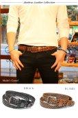 画像5: ベルト メンズ 本革 ビジネス ロング 本革ベルト 黒 茶 メンズベルト 男性用 カジュアル おしゃれ シンプル 革ベルト メンズベルト 父の日 ビジネス 紳士用 ビジネスカジュアル 送料無料 編み込み ステッチ キャメル ブラウン ブラック