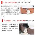 画像6: シンプル レザー 2連 ブレスレット ツイン レザーブレスレット 本革 レザー メンズ レディース 革 ラップブレスレット ペアブレスレット ペア ブレスレット バックル ステンレス 金属アレルギー≪メール便送料無料≫