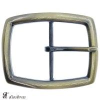 バックルのみ 金具 40mm幅 たる型 金属製 バックル交換 バックルなしベルト用 レザークラフト ゴールド アンティークゴールド